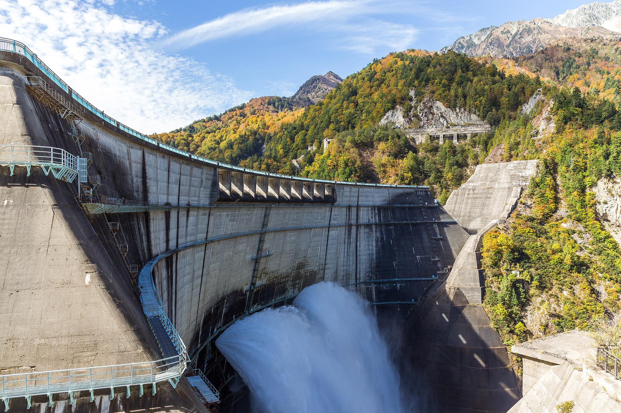Photo of a dam
